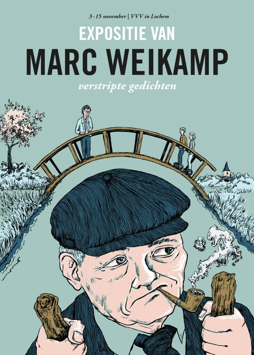 Marc Weikamp - Verstripte Gedichten